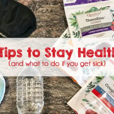 5 Tips to Stay Healthy This Season – And What To Do If You Get Sick