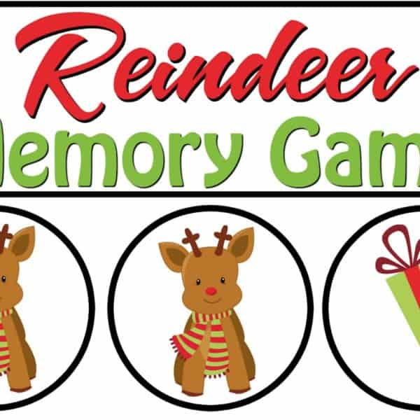 Reindeer Memory Game – Fun Winter Activity For Preschoolers