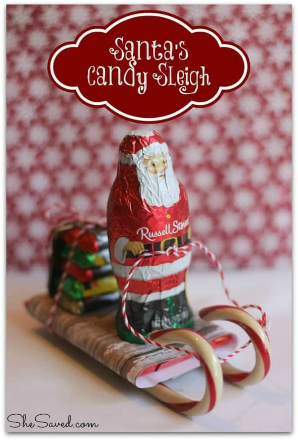 Santa_s Candy Sleigh from She Saved