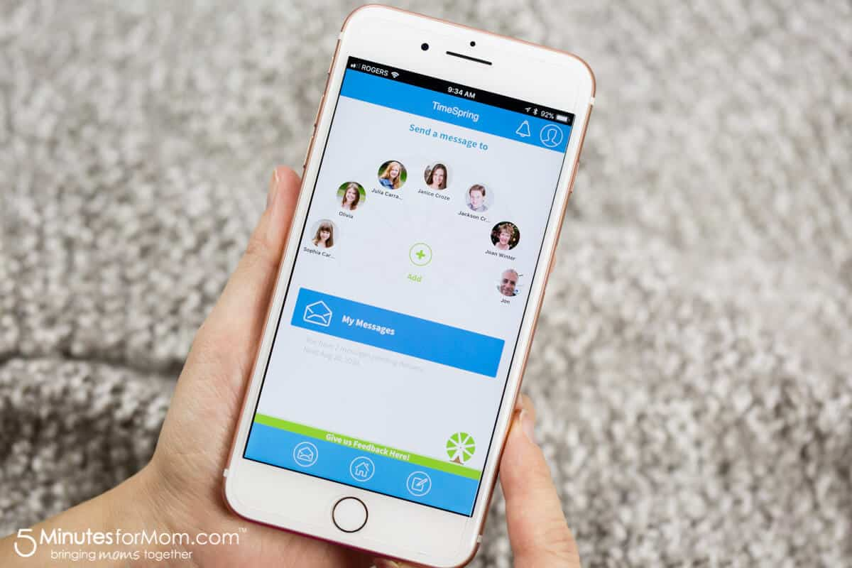 TimeSpring - New App To Share Memories