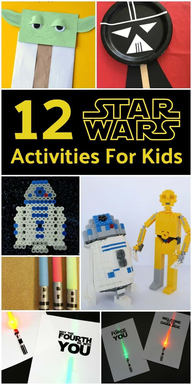 12 Star Wars Activities For Kids