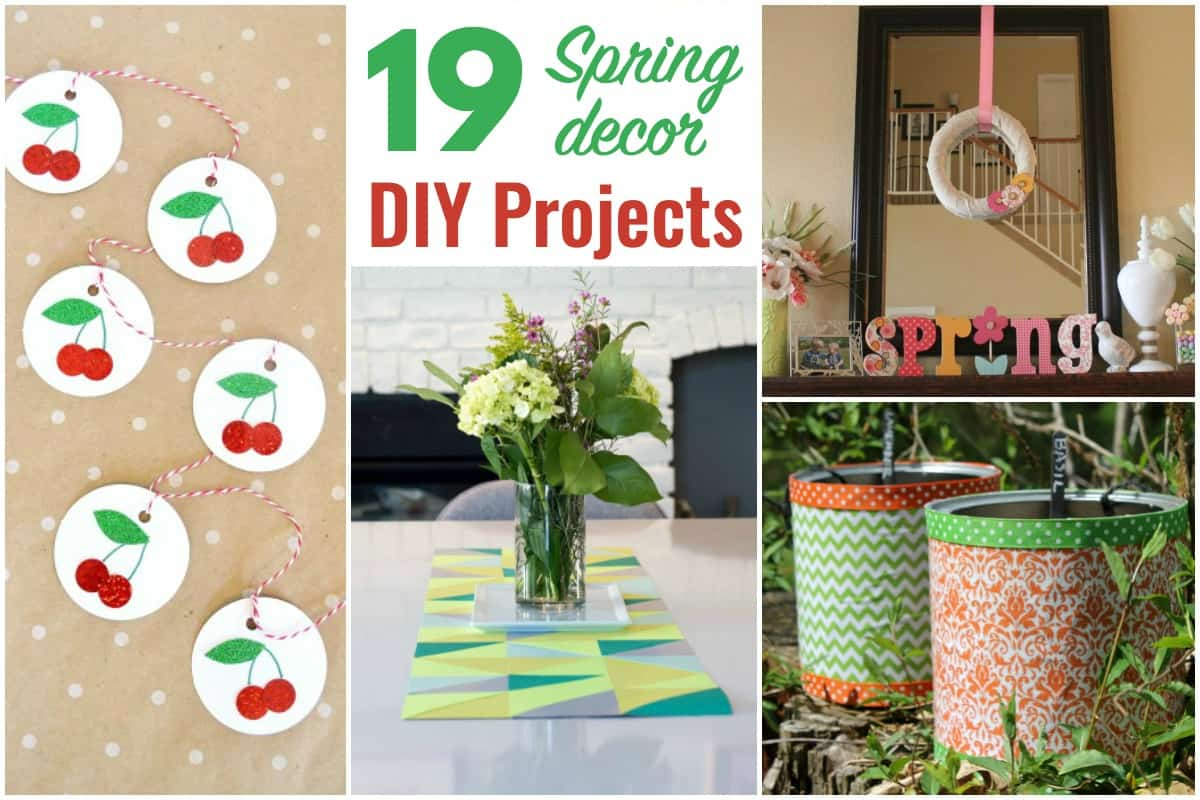 19 Spring Decor Diy Projects 5 Minutes For Mom