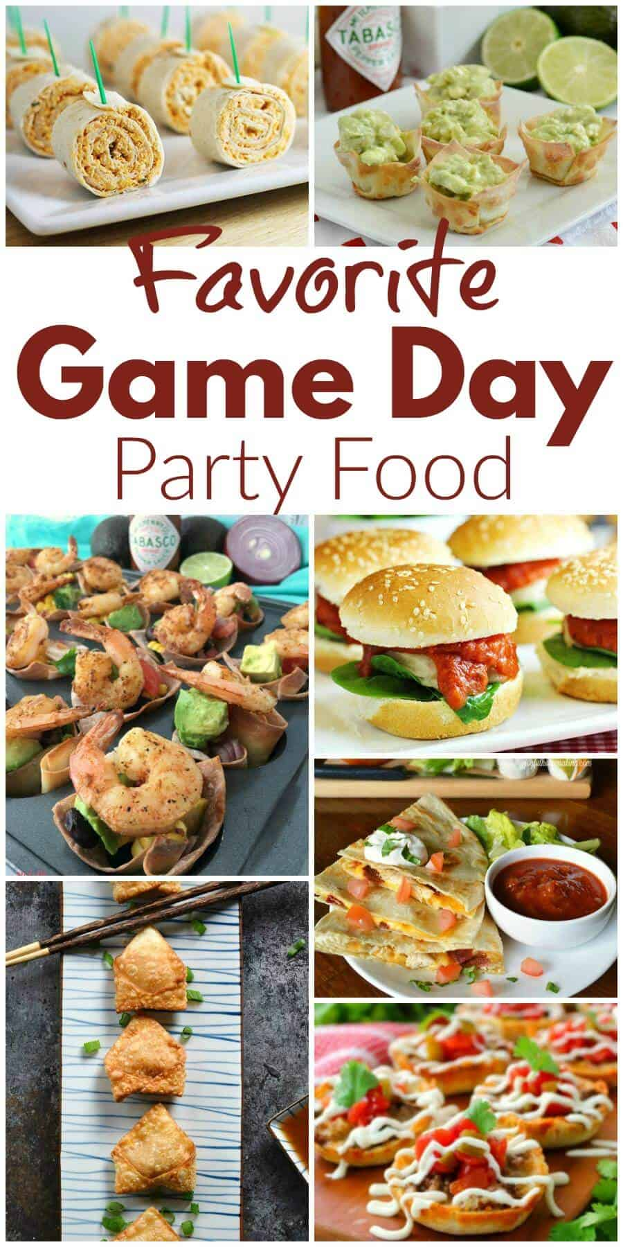 Favorite Game Day Party Food