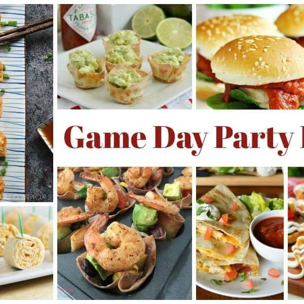 Favorite Game Day Party Food and our Delicious Dishes Recipe Party