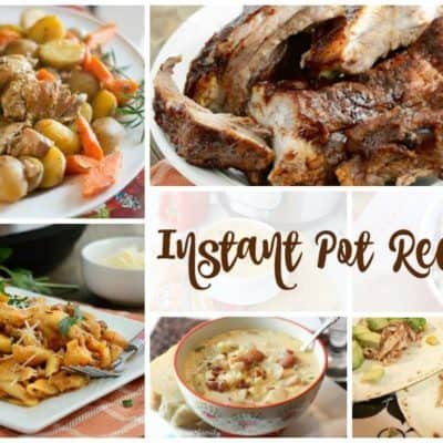Instant Pot Recipes and our Delicious Dishes Recipe Party