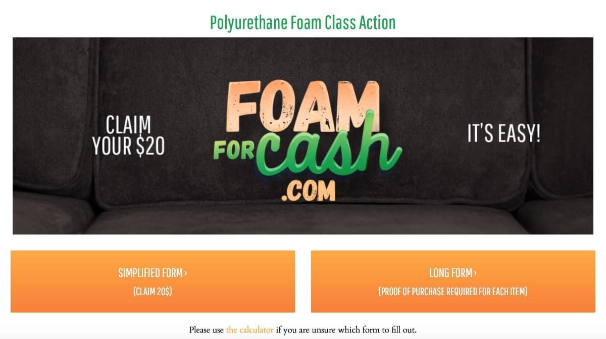 Polyurethane Foam Class Action