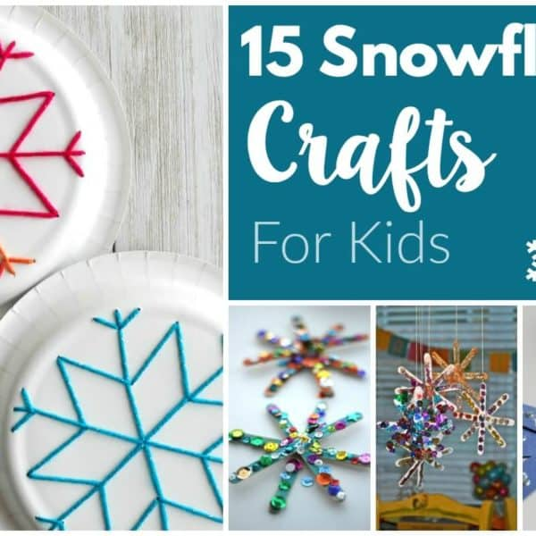 15 Snowflake Crafts For Kids