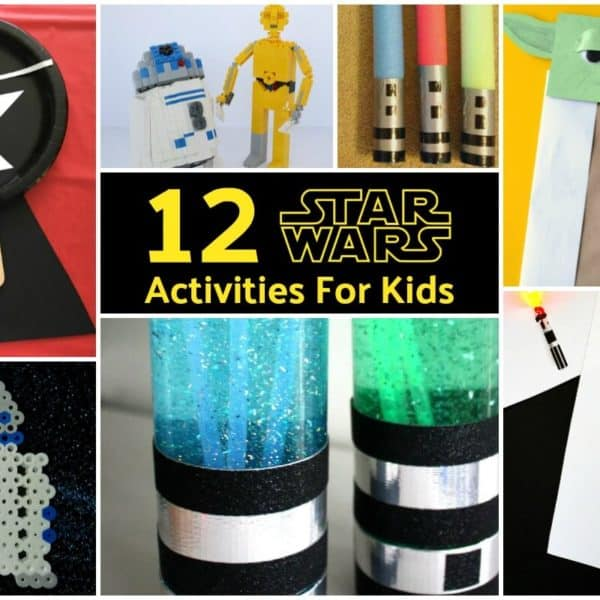 12 Star Wars Activities For Kids
