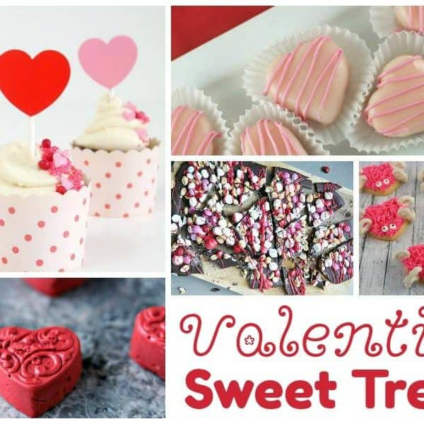 Valentine Sweet Treats and our Delicious Dishes Recipe Party