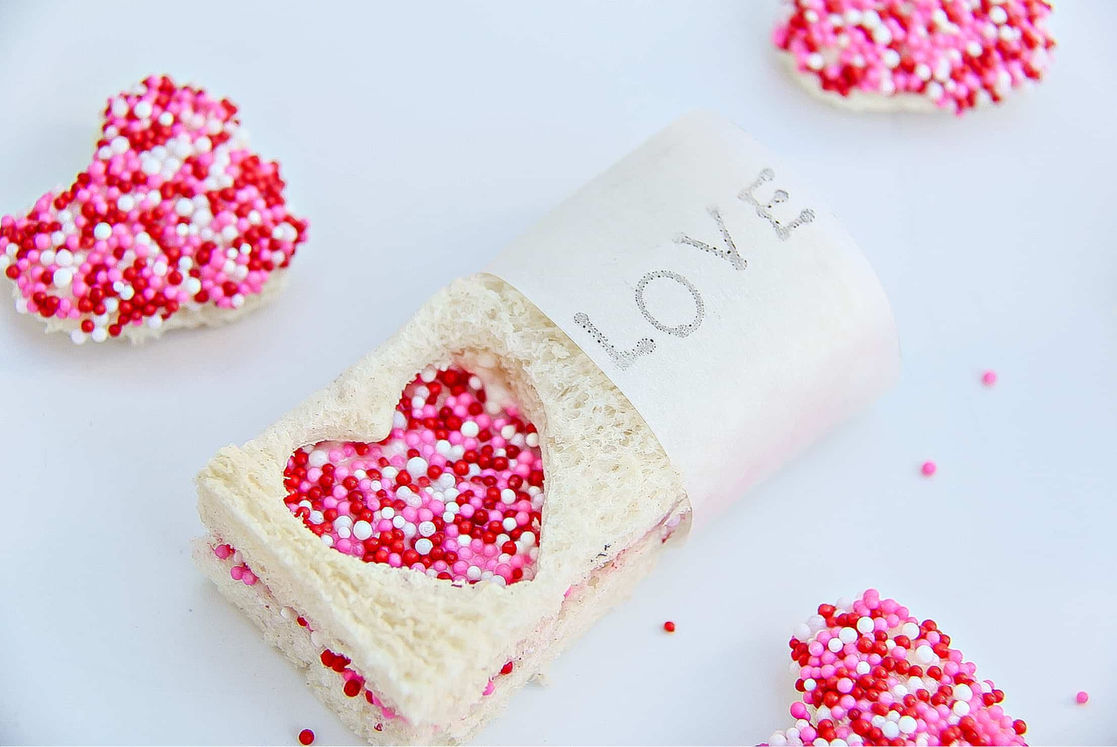 Valentine's Day Fairy Bread