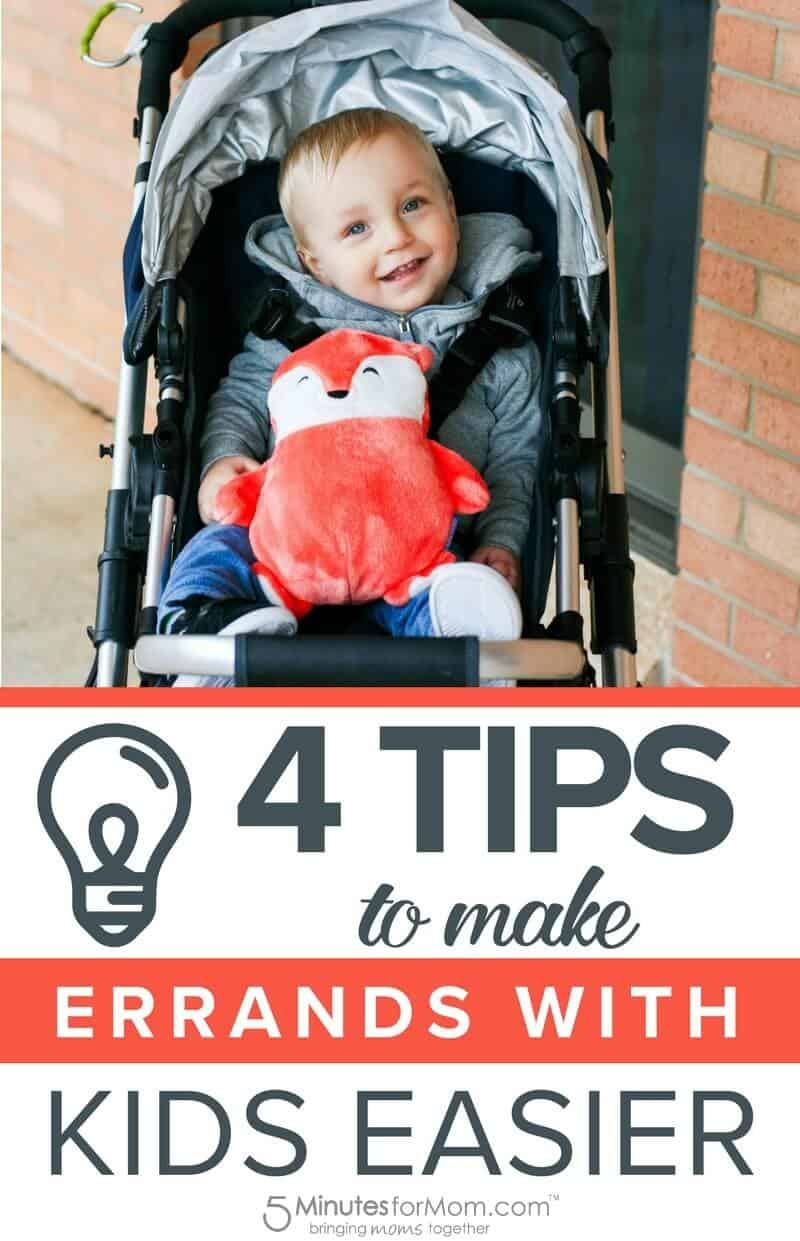 4 Tips To Make Errands with Kids Easier