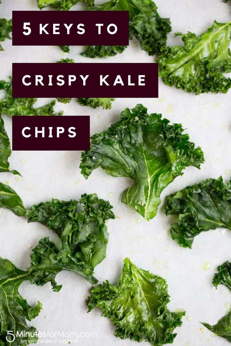 5 Keys to Crispy Kale Chips