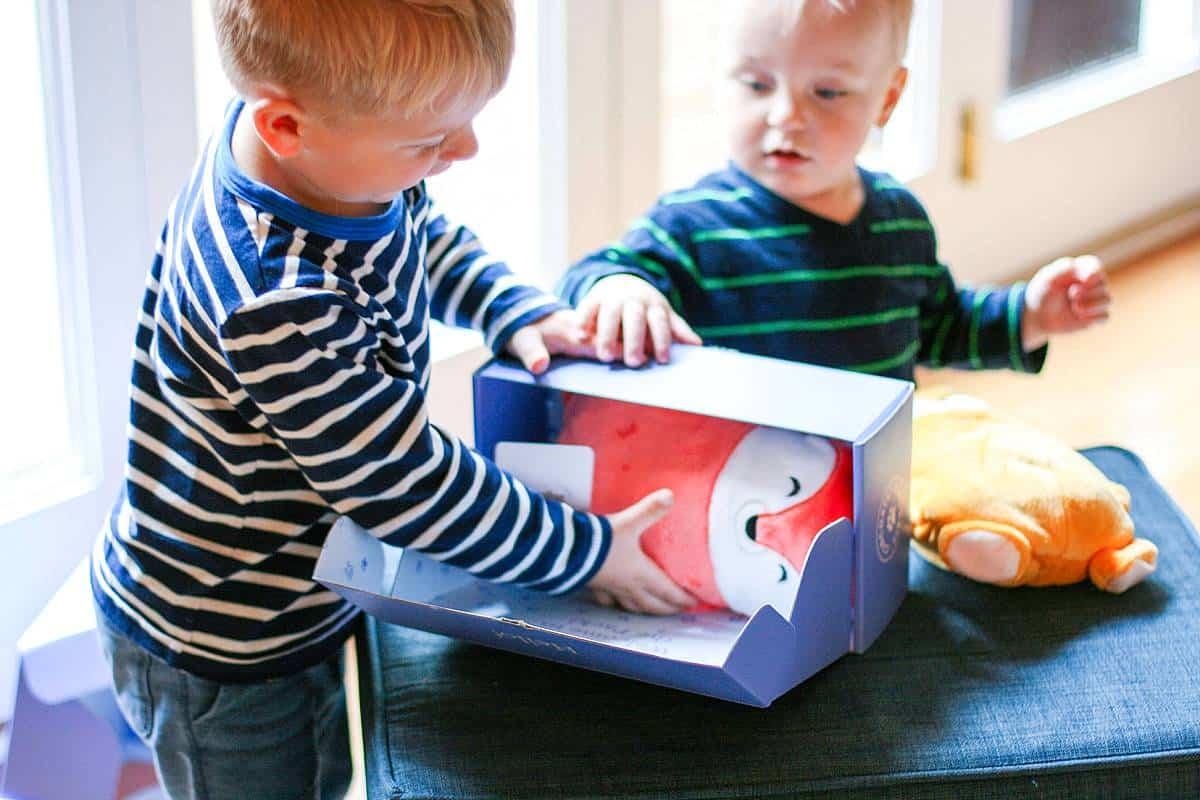 Opening Cubcoats Box