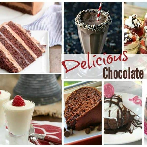 Sweet Chocolate Recipes and our Delicious Dishes Recipe Party