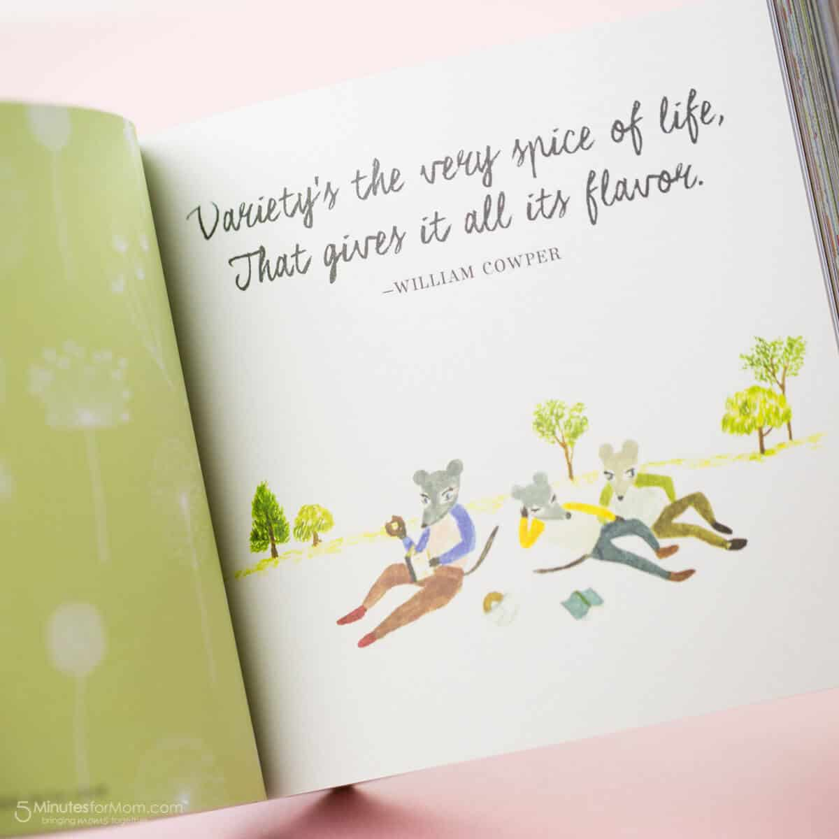 Everything Grows with Love - A Tiny Book to Give and to Treasure