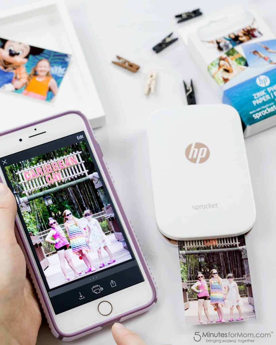 HP Sprocket - Crafting With Photos