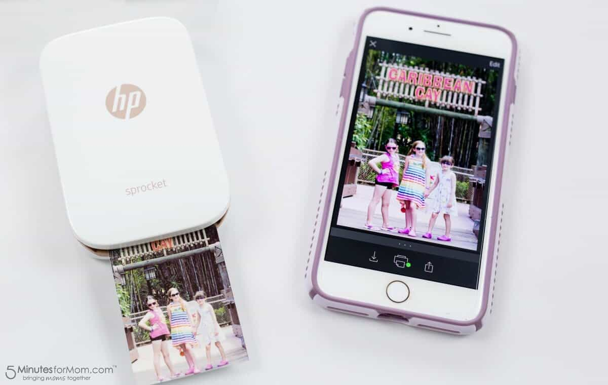 HP Sprocket - Printing a Photo