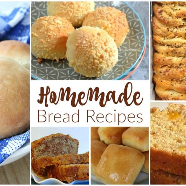 Homemade Bread Recipes and our Delicious Dishes Recipe Party