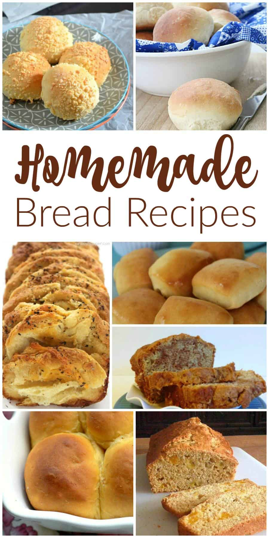 Homemade Bread Recipes - Delicious Dishes