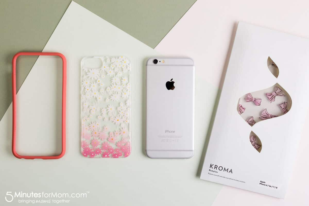 Kroma BPA Free iPhone Cases with Interchangeable Backplates