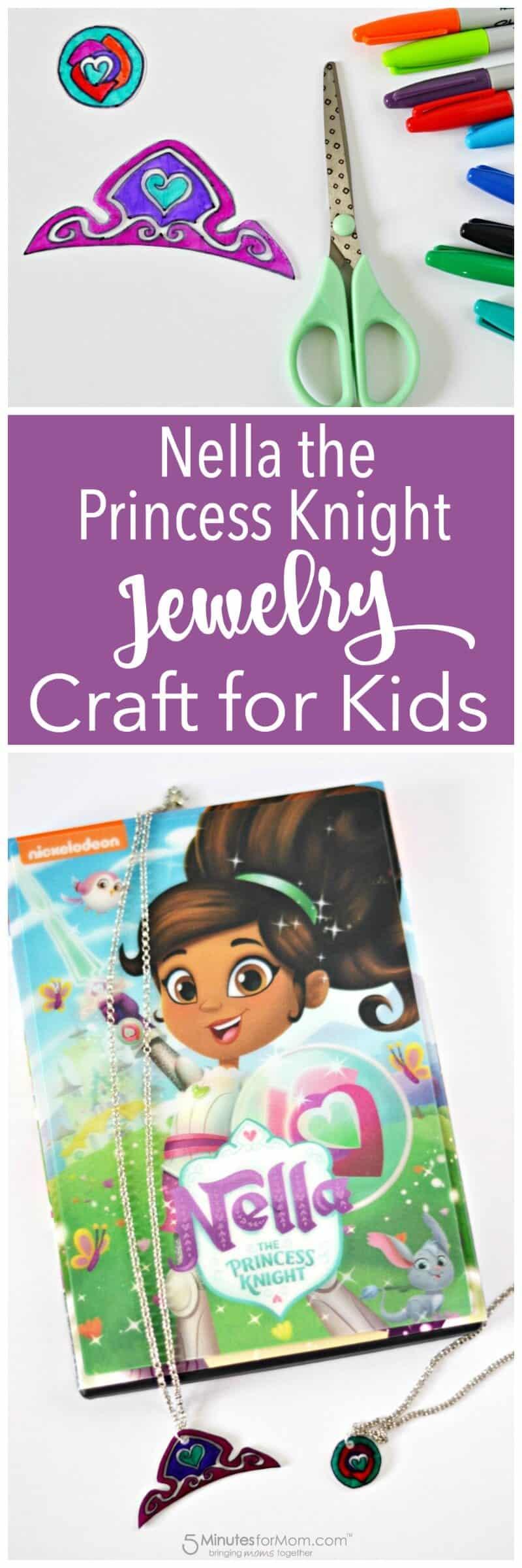 Nella The Princess Knight Craft for Kids