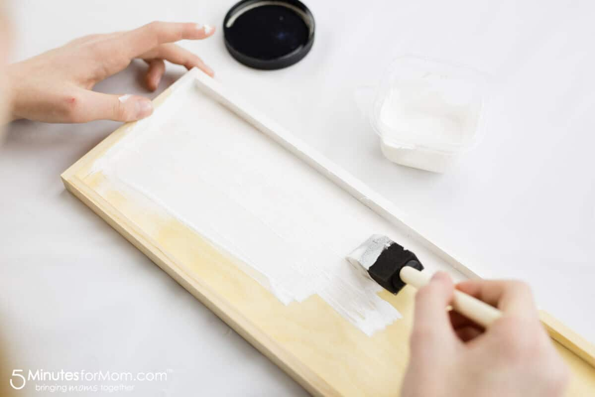 Painting Chalkboard Painting DIY Photo Collage Frame