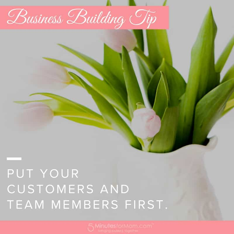Business Building Tips - Customers