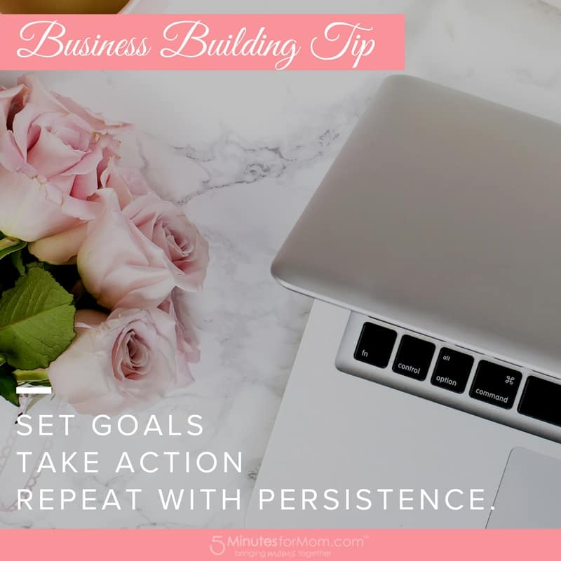 Business Building Tips - Goals