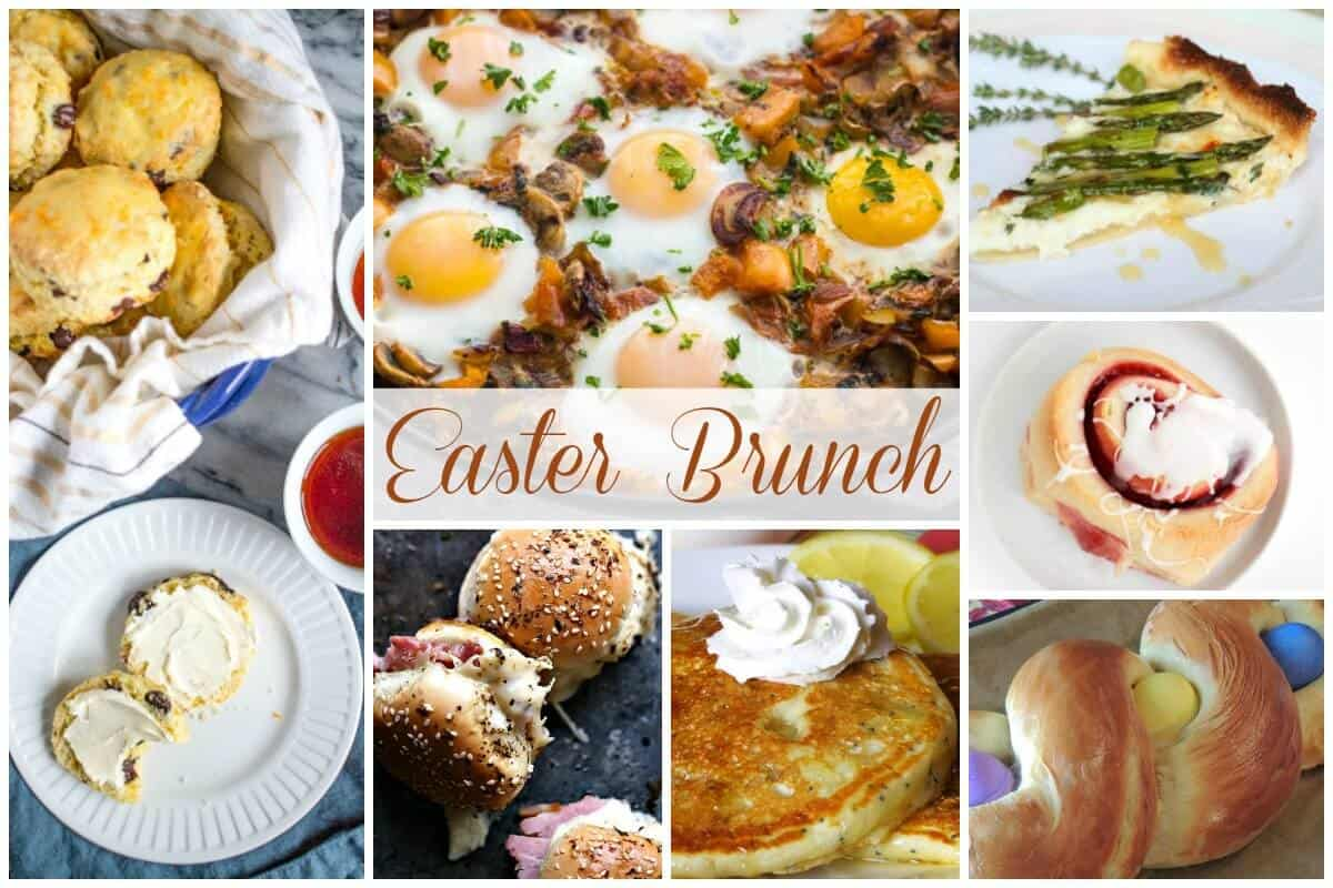 Easter Brunch - Delicious Dishes