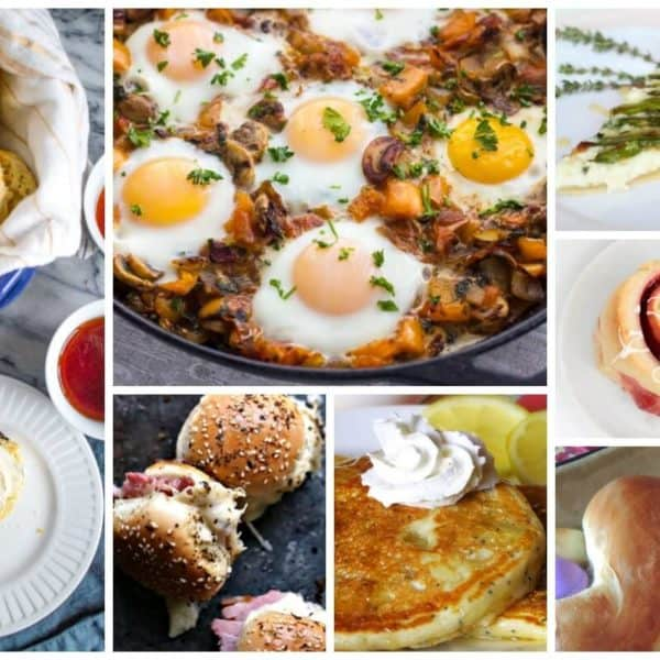 Easter Brunch Recipes and our Delicious Dishes Recipe Party