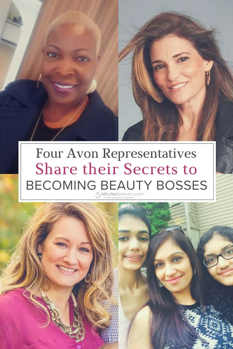 Four Avon Representatives Share Secrets to Becoming Beauty Bosses