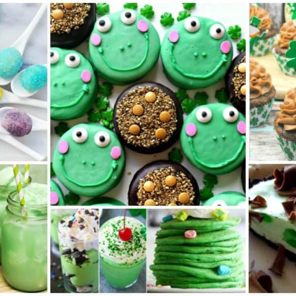 Green Treats for St. Patrick's Day and our Delicious Dishes Recipe Party