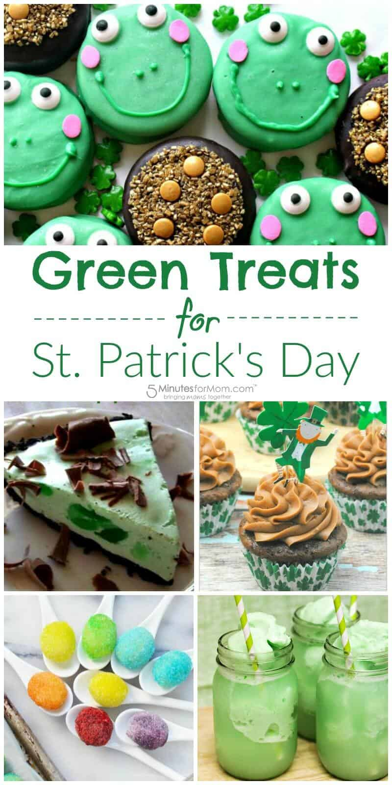 Green Treats for St Patricks Day - Fun Treats