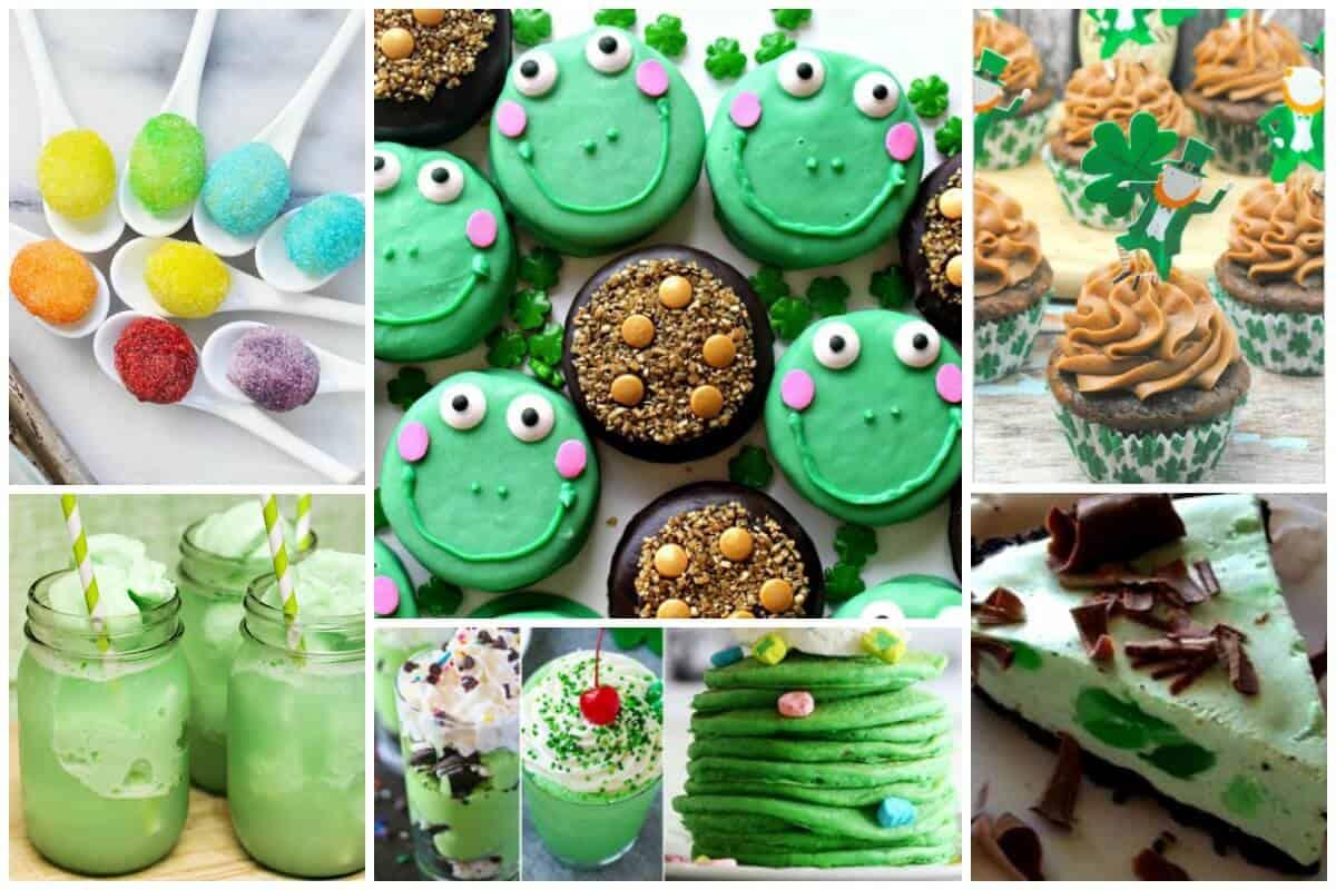 Green Treats for St Patricks Day