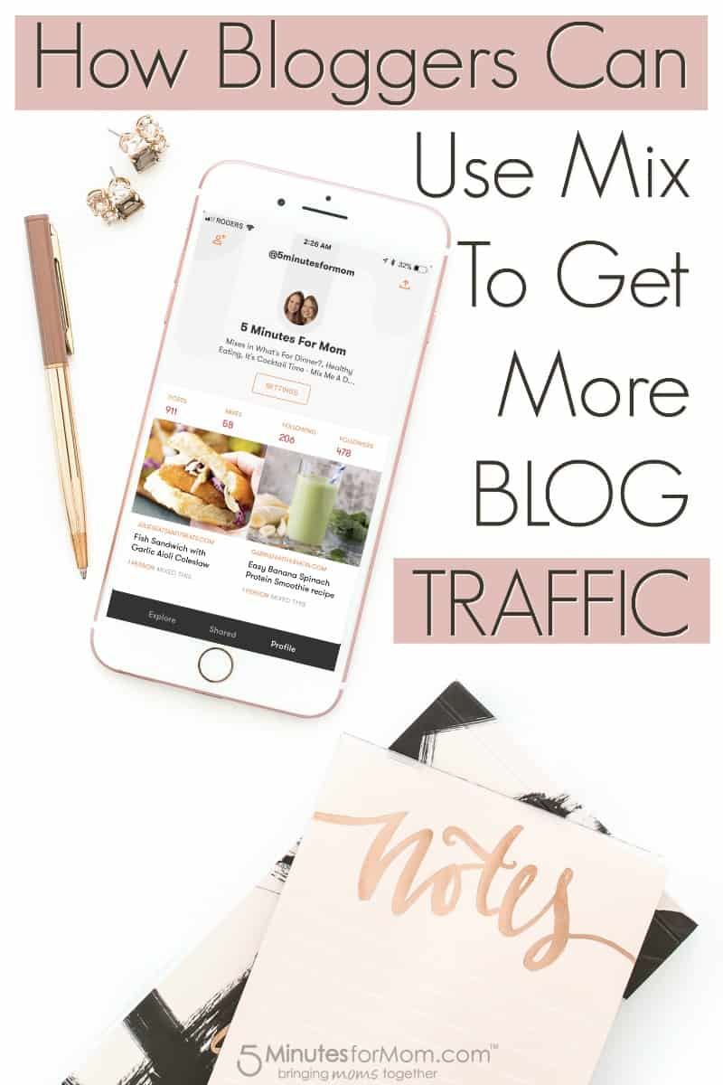 How Bloggers Can Use Mix To Get More Blog Traffic