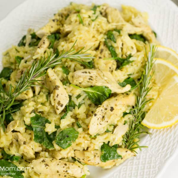 Instant Pot Dijon Chicken Risotto Recipe