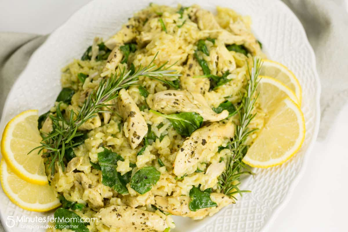 Ultimate Comfort Food Instant Pot Dijon Chicken Risotto Recipe