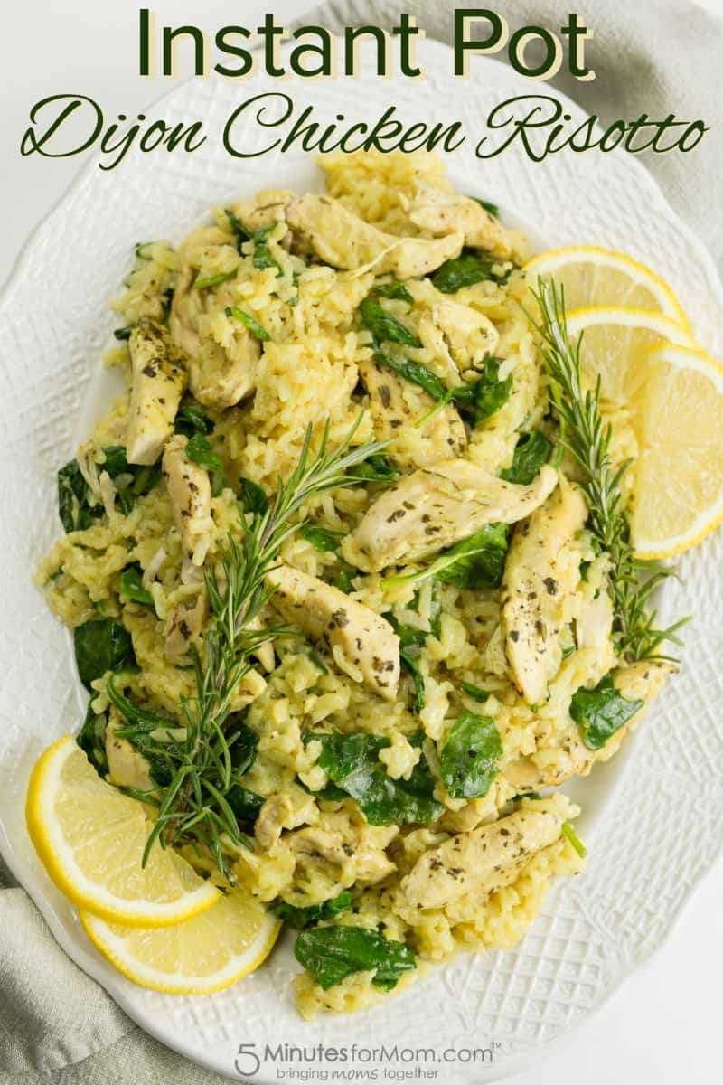 Instant Pot Dijon Chicken Risotto