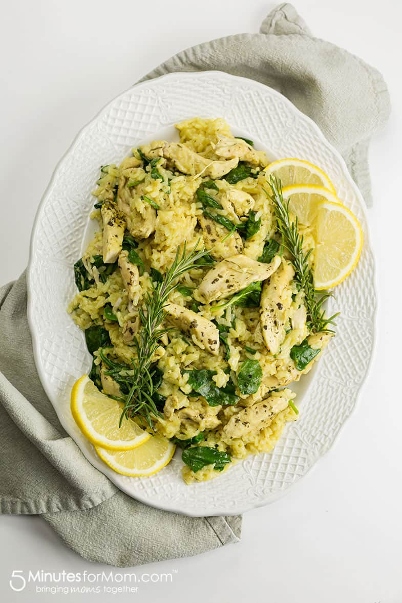 Instant Pot Chicken Risotto Recipe