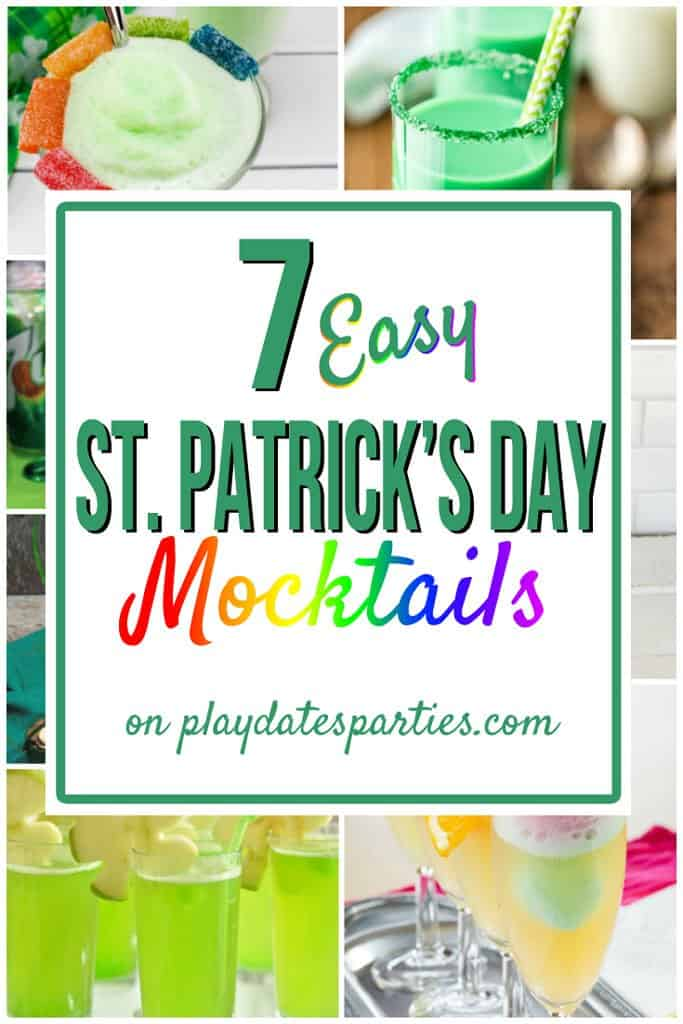 St. Patrick_s Day Mocktails for Kids from Play Dates and Parties