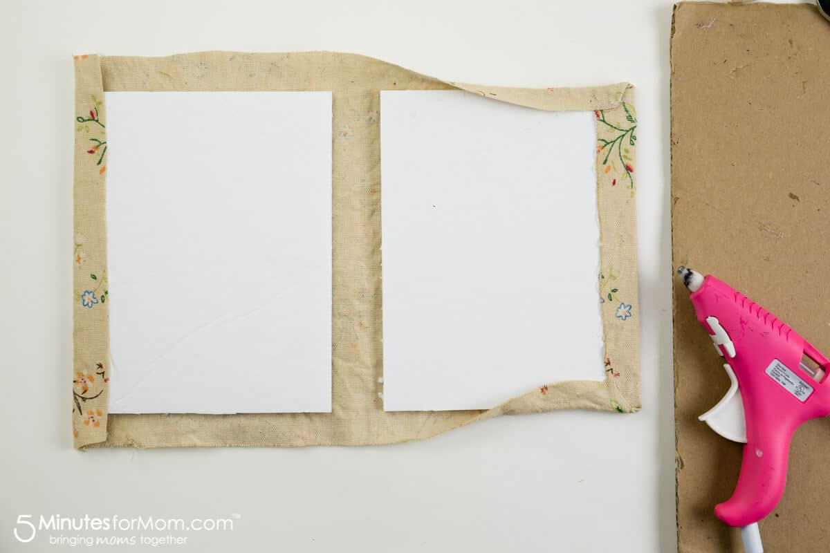 How to make a handmade tea or coffee stained journal - step by step DIY tutorial
