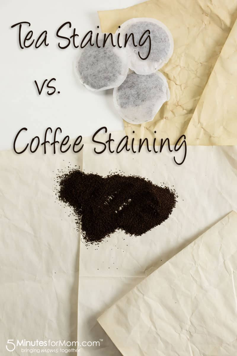 Tea Staining vs Coffee Staining