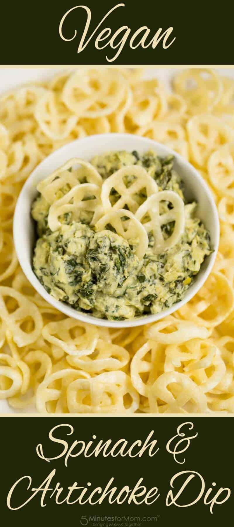 Vegan Spinach and Artichoke Dip Recipe