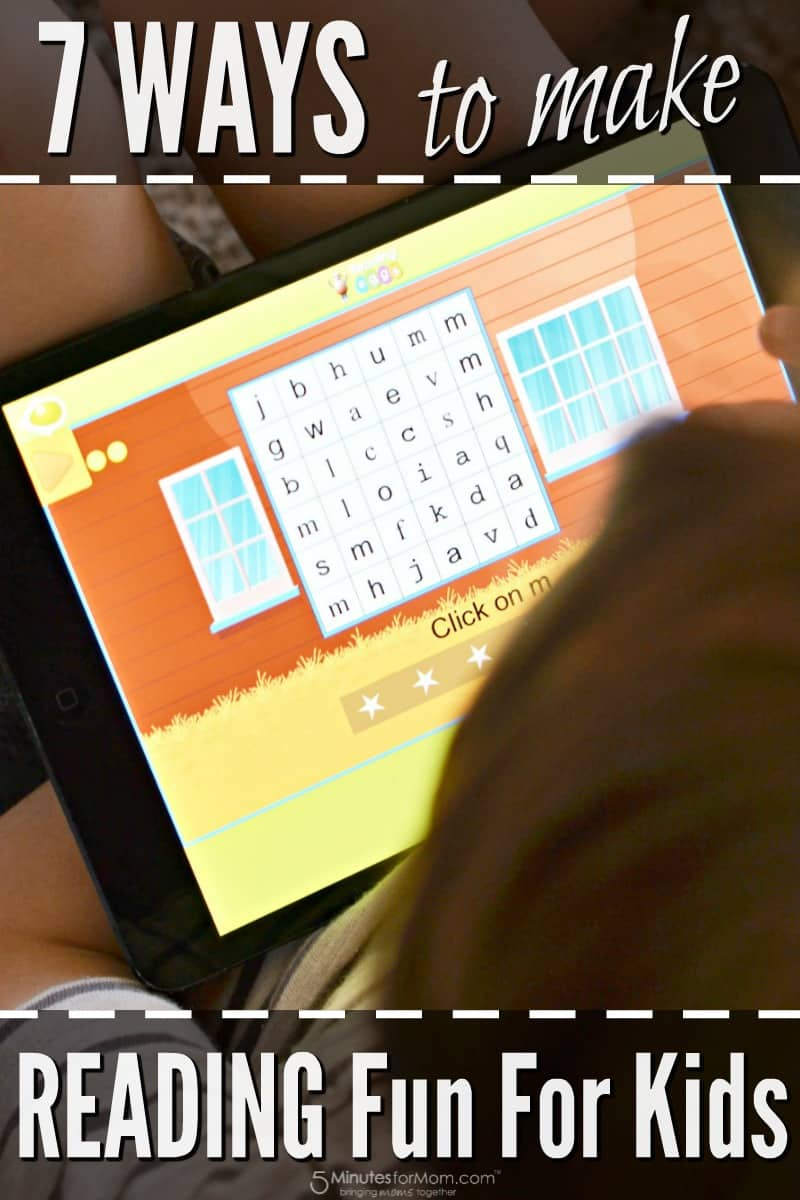 7 Ways to Make Reading Fun for Kids - Reading Eggs App
