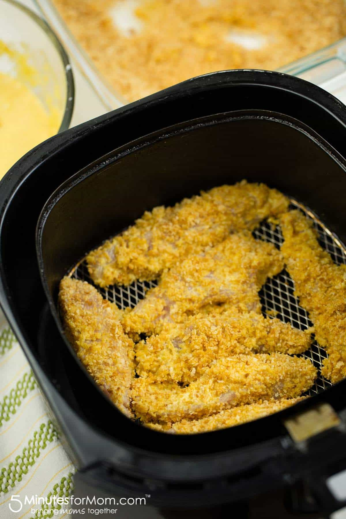 Crispy Homemade Air Fryer Chicken Tenders