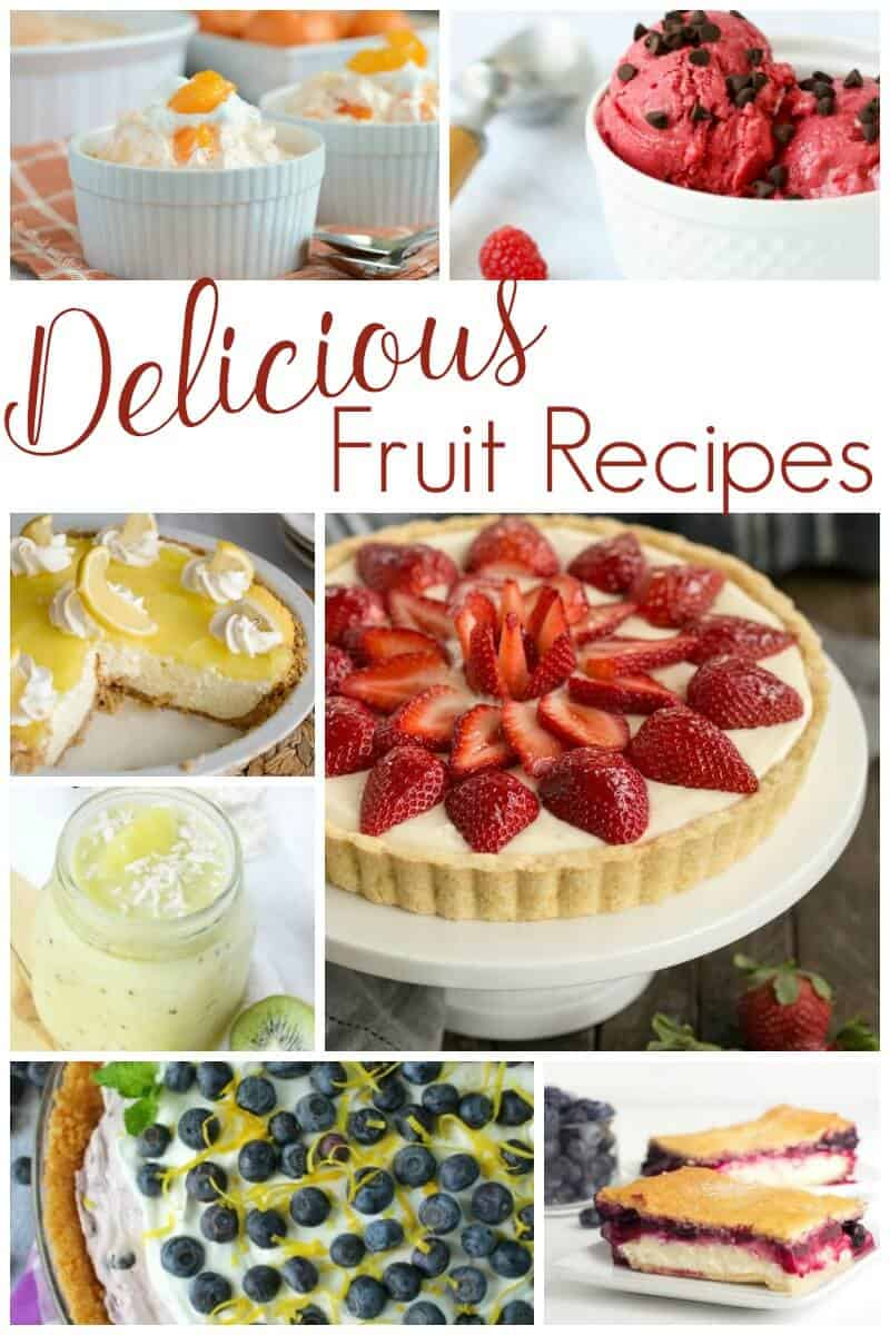 Delicious Fruit Recipes