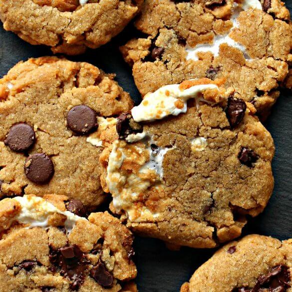 Flourless Smores Peanut Butter Cookies from The Monday Box