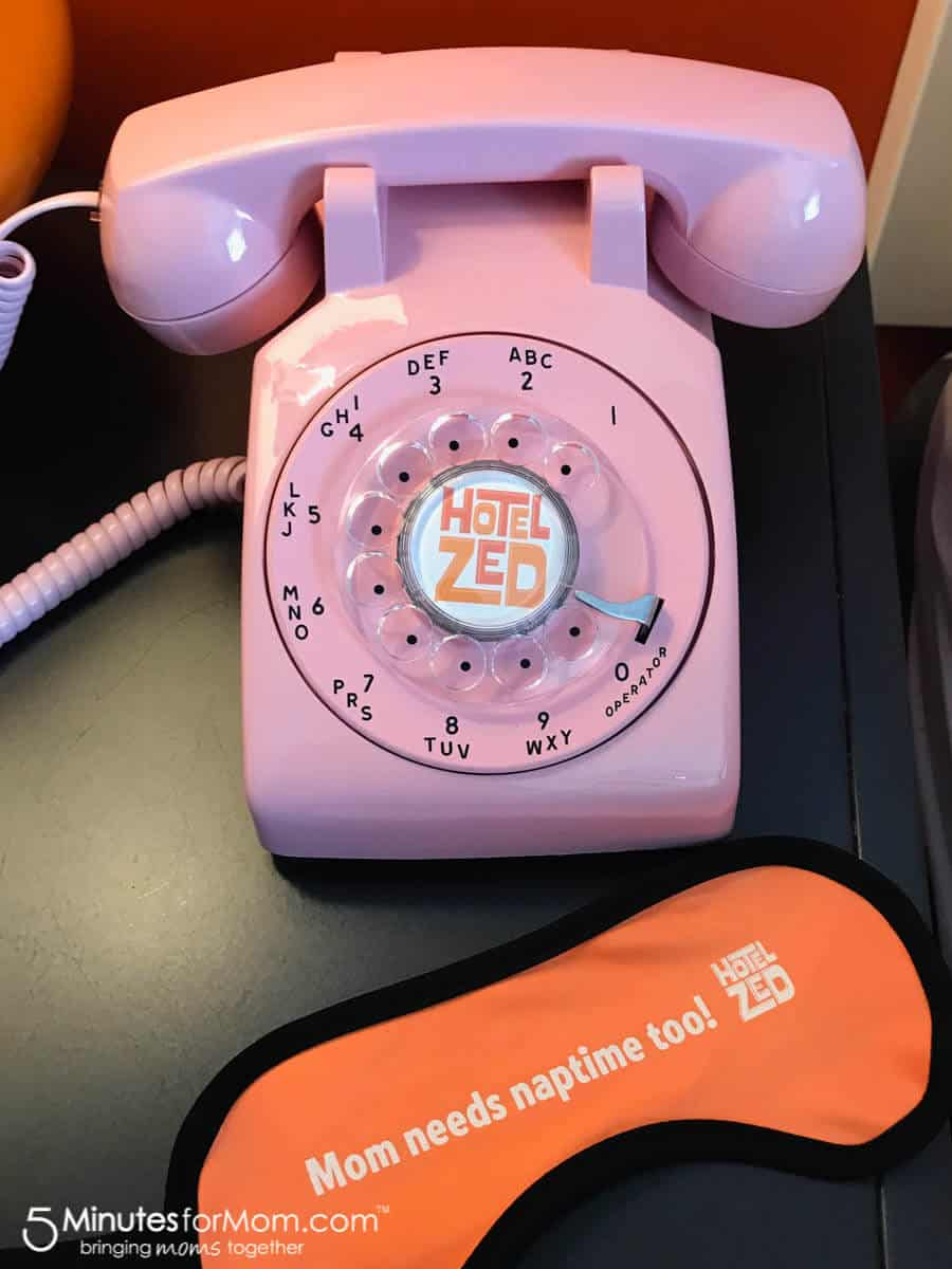Hotel Zed Rotary Dial Phone