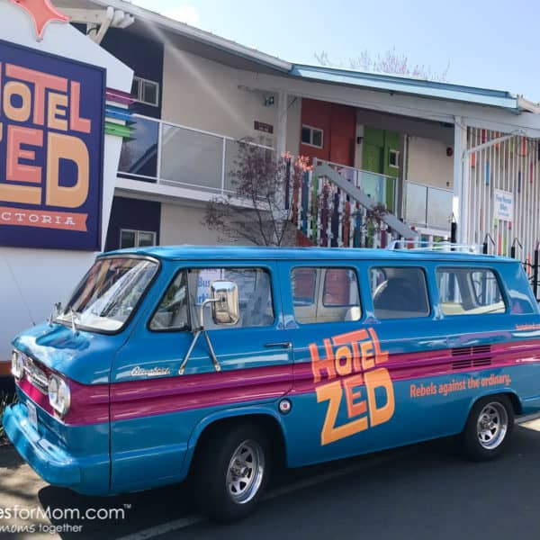 Hotel Zed – A Funky, Family Friendly Hotel in Victoria that Won't Break Your Budget