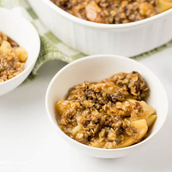 Instant Pot Apple Crisp that is Ready in Minutes!